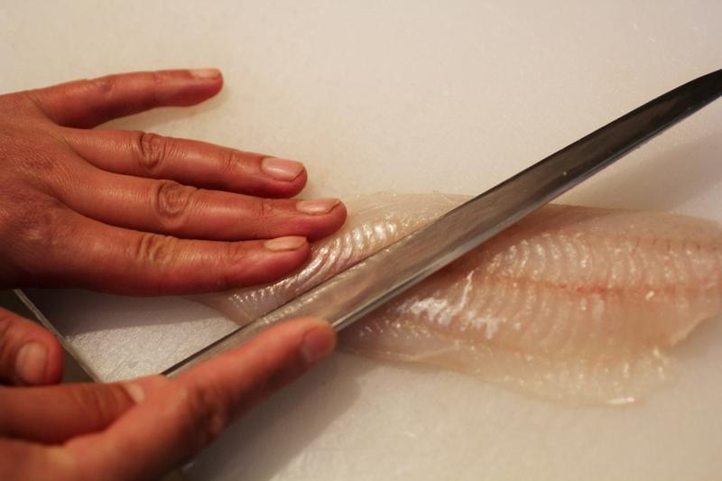 アイナメの刺身
