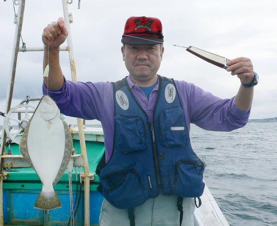 マスナタのヒラメ釣り