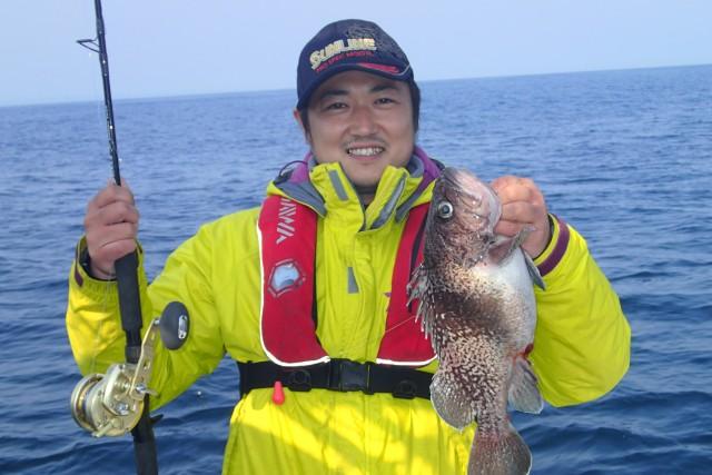餌での釣果