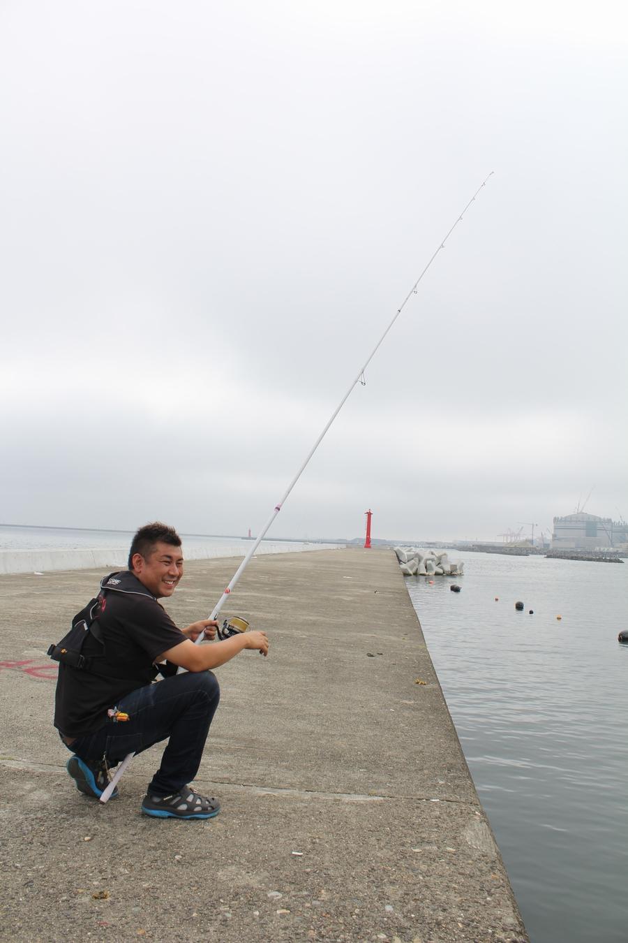 キスの引き釣り