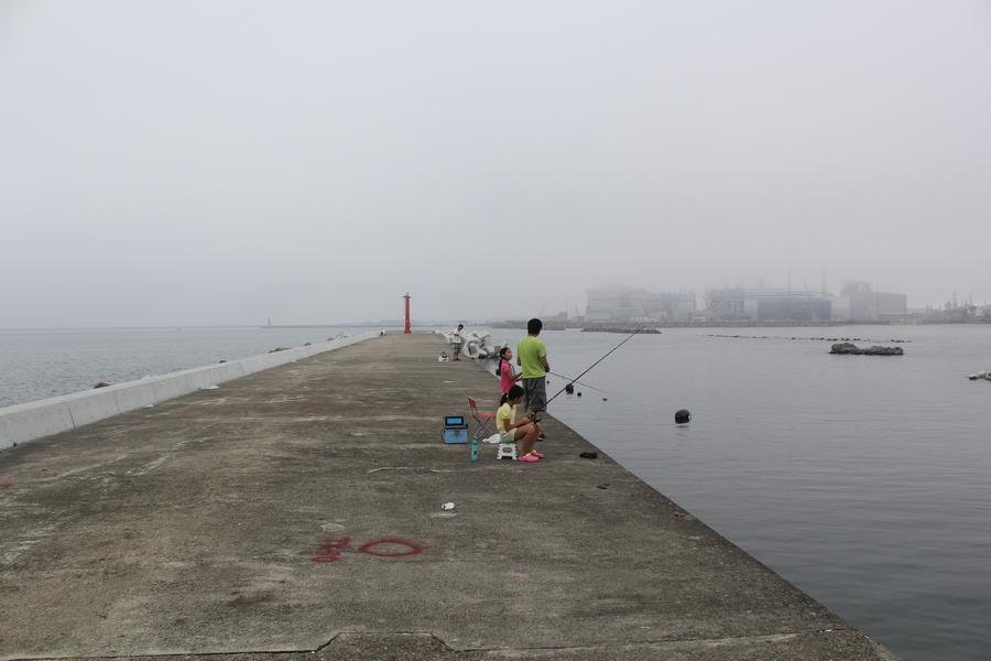 松ヶ浜漁港防波堤