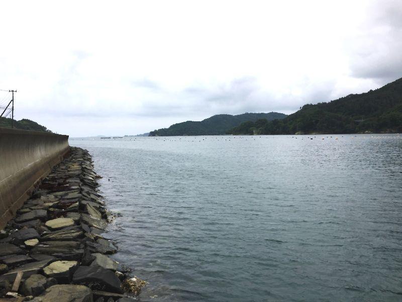 石積み護岸