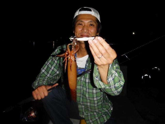 スルメイカ釣果