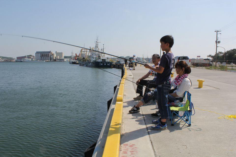 仙台港 釣り