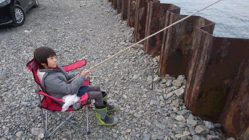 即席探り釣り