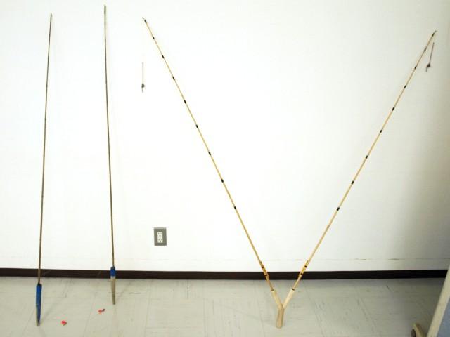 数珠子釣り竿